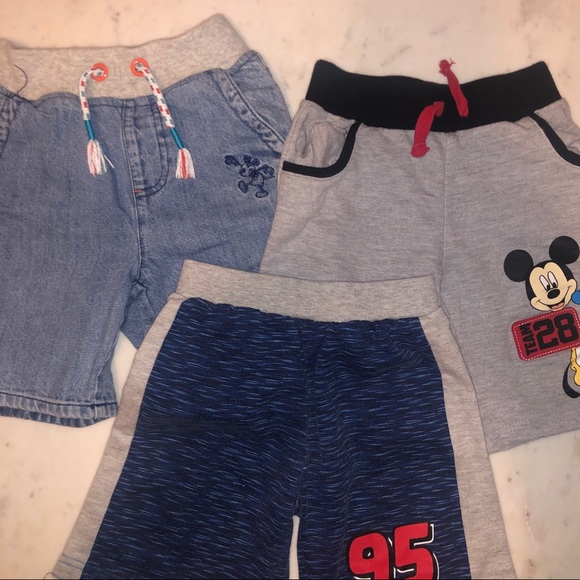 Disney Other - Bundle of boys Disney shorts size 4T